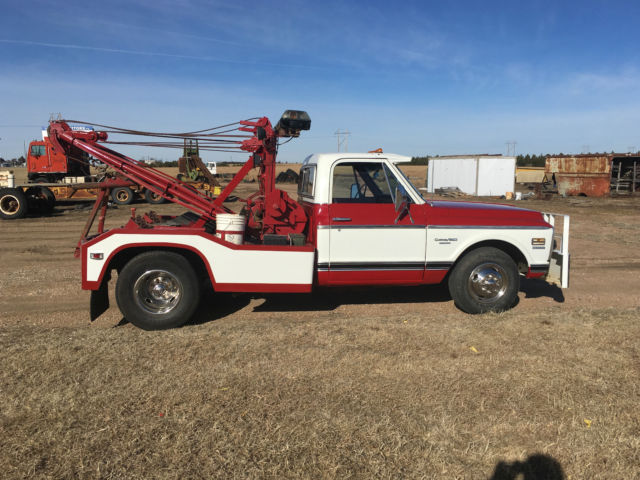 Truck Beds For Sale >> 1972 Chevy C-30 Dually Towtruck with Holmes 500 wrecker bed for sale - Chevrolet C/K Pickup 3500 ...