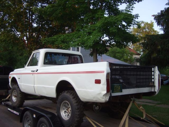 1972 chevy k10 350 mud truck off road vehicle race ready or convert to road use for sale. Black Bedroom Furniture Sets. Home Design Ideas