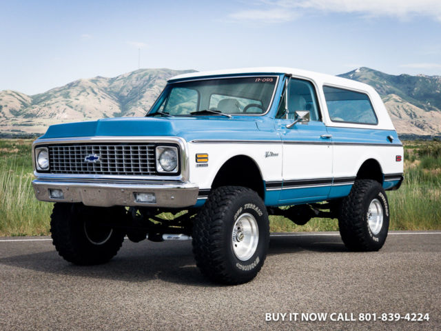 1972 chevy k5 blazer 400hp vortec v8 w tpi fuel. Black Bedroom Furniture Sets. Home Design Ideas