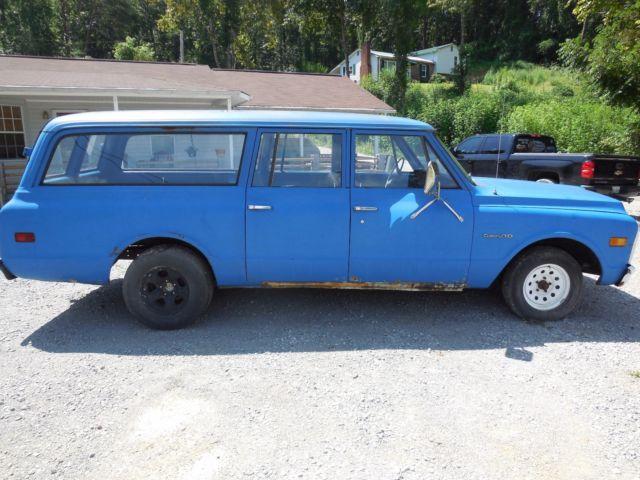 1972 chevy suburban c10 3 door with barn doors 72 for sale for 10 door suburban