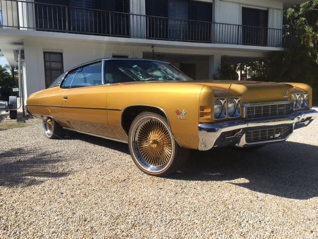 1972 Classic Chevrolet Caprice DONK Hot Rod Muscle Car BIG BLOCK 402
