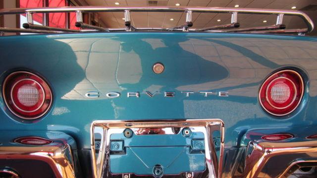 1972 Corvette Convertible Bryar Blue 4 Speed Zz4 350 53