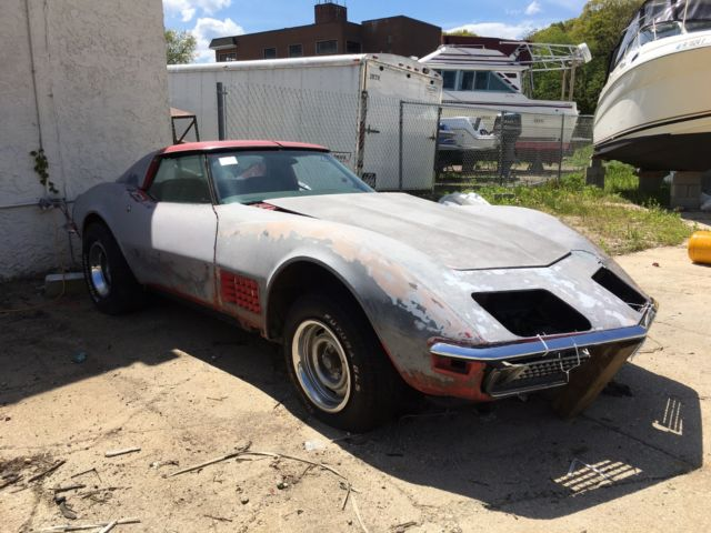 1972 corvette stingray matching numbers project cheap look wow for sale chevrolet corvette. Black Bedroom Furniture Sets. Home Design Ideas