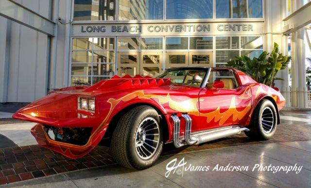 1972 Custom Classic Corvette Summer Movie Tribute Car for ...