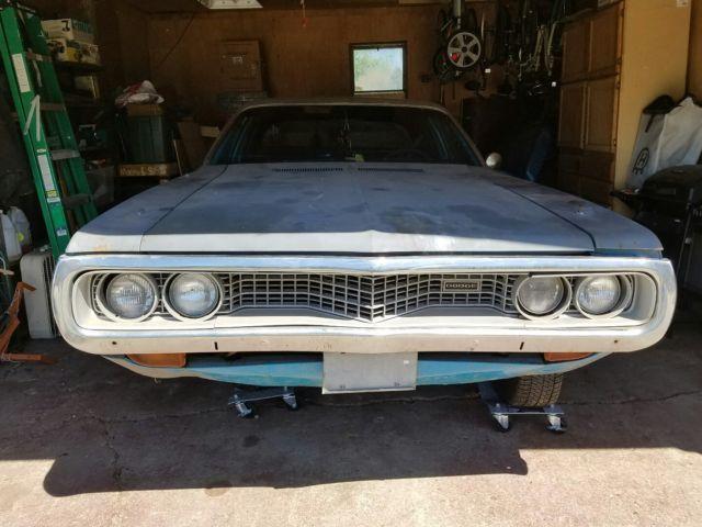 1972 Dodge Coronet Custom V8 Sedan Not Charger Or