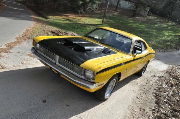 1972 dodge demon with 4 speed manual transmission great mopar for sale dodge other 1972 for. Black Bedroom Furniture Sets. Home Design Ideas