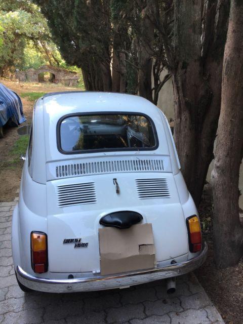 1972 fiat 500  located in southern france near st tropez Fiat 500L Fiat 500 4 Door