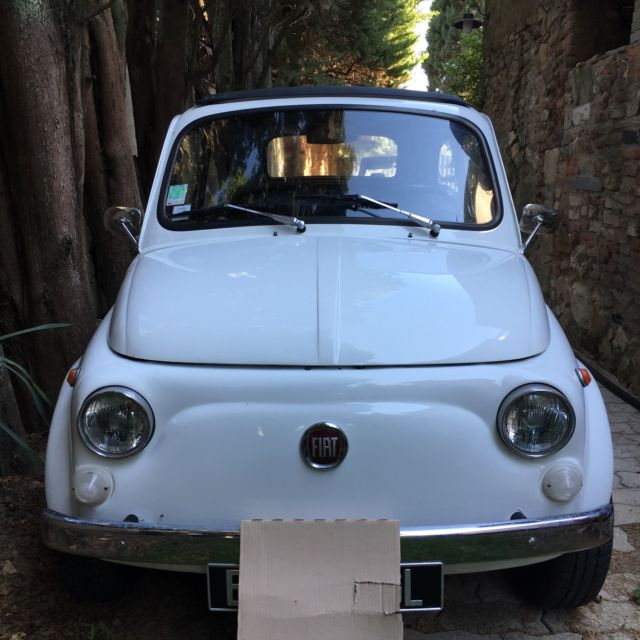 1972 FIAT 500, Located In Southern France Near St. Tropez