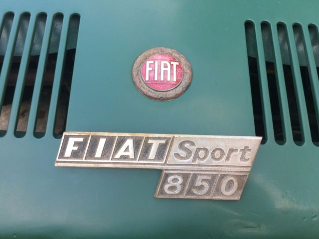1972 Fiat Spider 850 Convertible For Sale