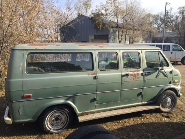 1972 Ford Econoline Club Wagon Passenger Hippie Camper Van 68 69 70