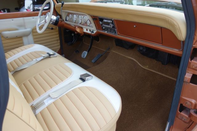 1972 ford f 100 460 v8 beautiful custom interior c6 transmission automatic for sale ford f. Black Bedroom Furniture Sets. Home Design Ideas