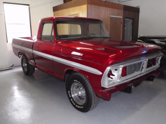 1972 ford f100 ranger show project for sale ford f 100 1972 for sale in jasper tennessee. Black Bedroom Furniture Sets. Home Design Ideas