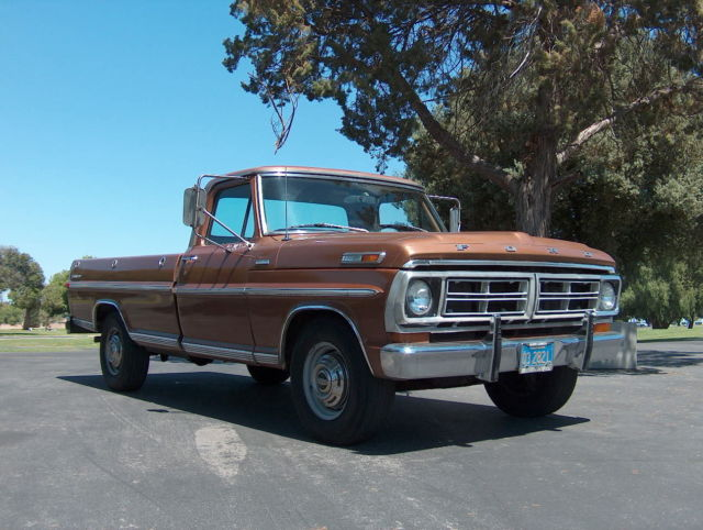 Cars For Sale By Owner In Bakersfield Ca >> 1972 Ford F250 Explorer/Camper Special - Low miles,Rust ...