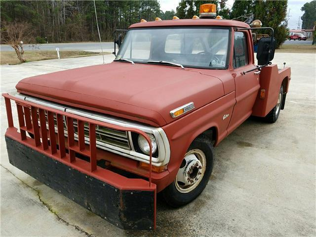 1972 Ford F350 Wrecker 360 Manual Tow Truck Holmes For