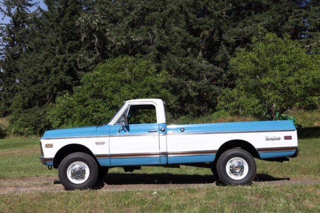 1972 gmc sierra grande 3 4 ton 4x4 truck original survivor condition for sale gmc other 1972. Black Bedroom Furniture Sets. Home Design Ideas