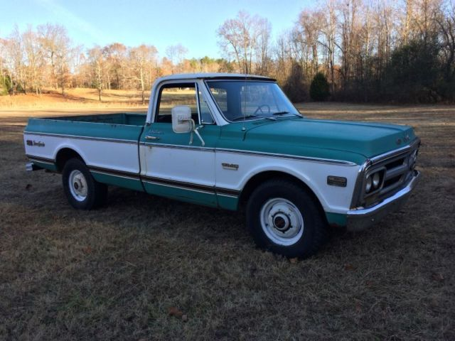 1972 Gmc Truck 2500 V8 Auto A C 67 72 Chevrolet For Sale Gmc Sierra 2500 1972 For Sale In