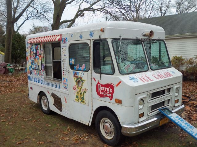 Step Van For Sale >> 1972 Good Humor Ice cream truck Rare P10 GMC shorty Rat Rod Food Truck for sale - GMC P10 1972 ...