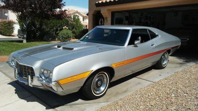 1972 Gran Torino Sport Fastback, Black Bucket Seats, for sale - Ford Torino 1972 for sale in Las