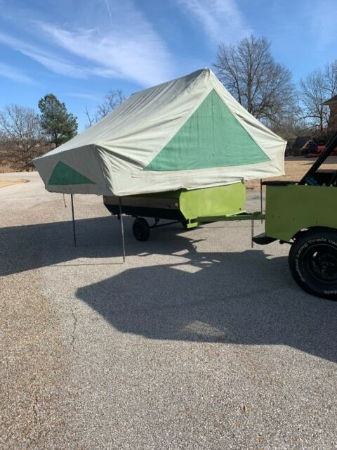 1972 Jeep with pop up camper for sale - Jeep Other 1972 for sale in
