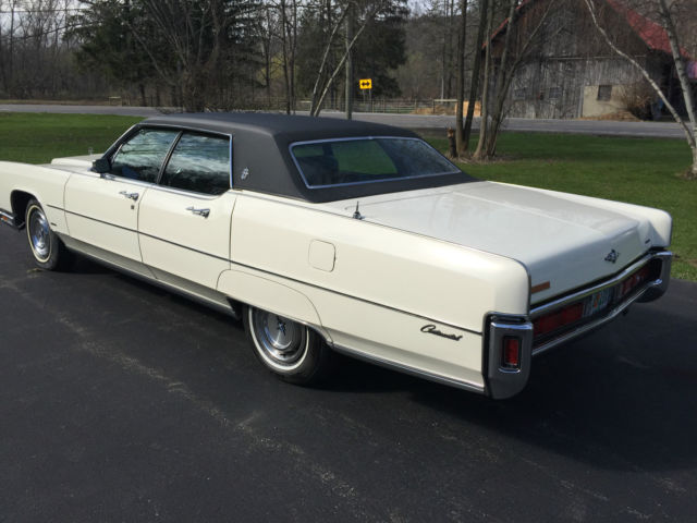 1972 Lincoln Continental W Town Car Option For Sale Lincoln