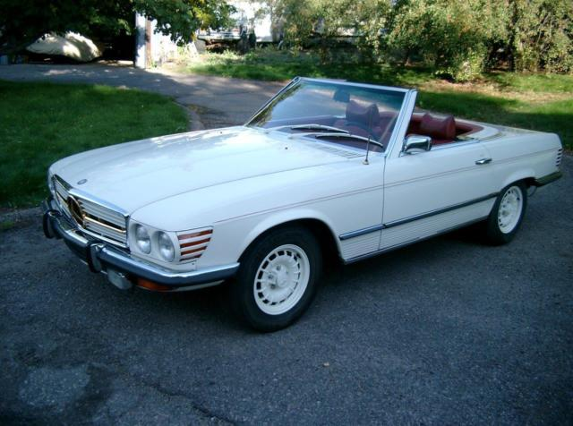 1972 mercedes benz 350sl 2 owner 4 5 liter m117 iron for Mercedes benz iron