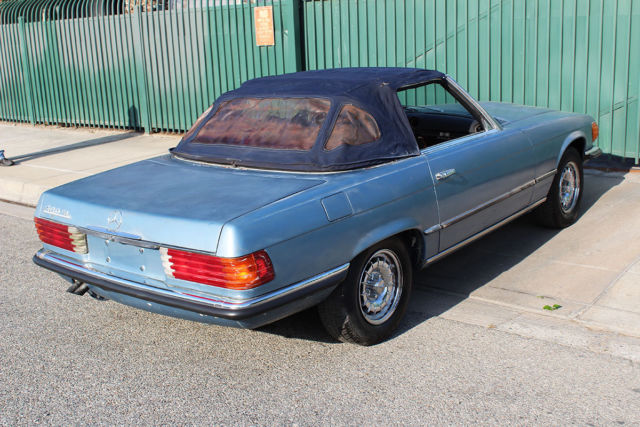 1972 mercedes benz 350sl convertible roadster for sale for Mercedes benz 350sl for sale