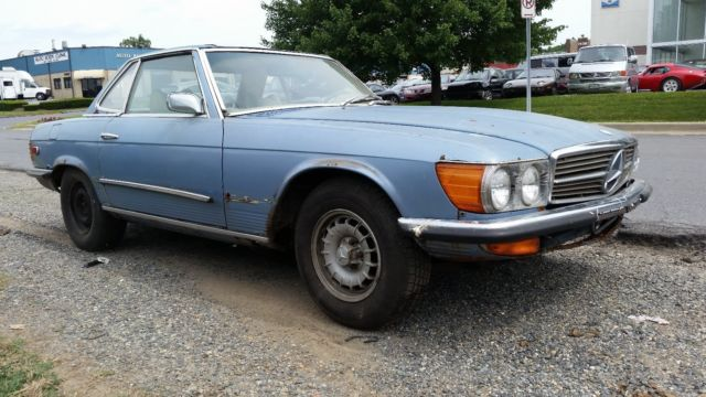1972 mercedes benz 450sl barn find rare 4 speed manual for Find mercedes benz for sale