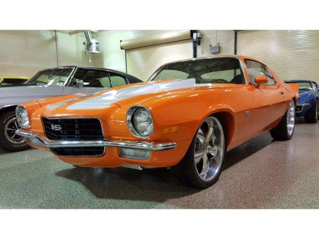 1972 Orange Crush For Sale Chevrolet Camaro Orange