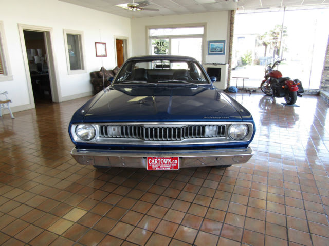 1972 plymouth duster 340 66k miles matching numbers for sale plymouth duster h code 340 ci. Black Bedroom Furniture Sets. Home Design Ideas