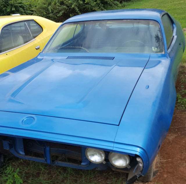1972 Plymouth Satellite Sebring Rust Free B5 Blue Body
