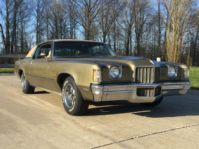 1972 Pontiac Grand Prix SJ 455 for sale - Pontiac Grand ...