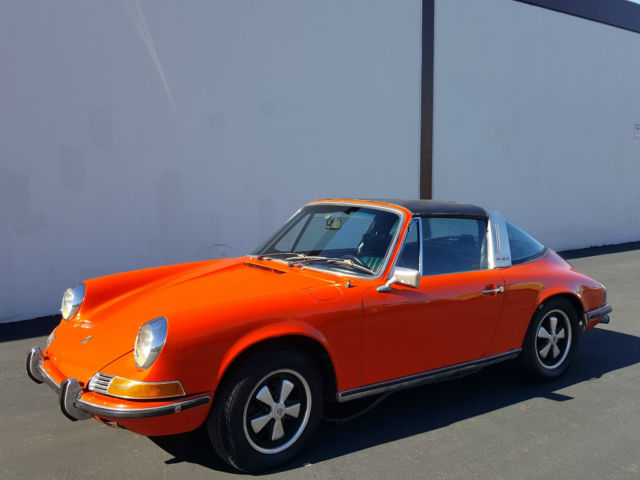 1972 porsche 911e for sale porsche 911 1972 for sale in orange california united states. Black Bedroom Furniture Sets. Home Design Ideas