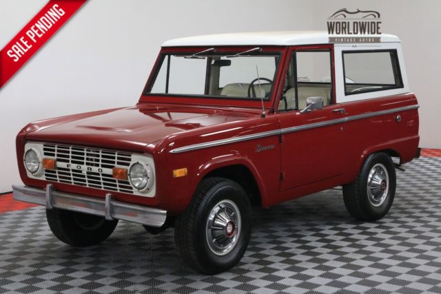 1972 red uncut 302 v8 ps 4x4 for sale ford bronco uncut 02 v8 ps 4x4 1972 for sale in united. Black Bedroom Furniture Sets. Home Design Ideas