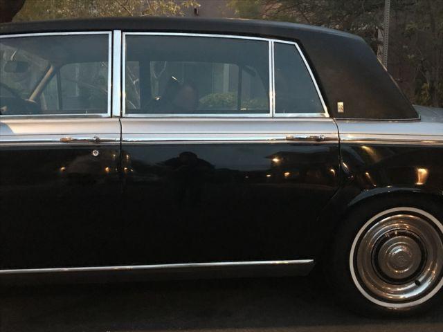 1972 Rolls Royce Silver Shadow Formal Sedan Long Wheel