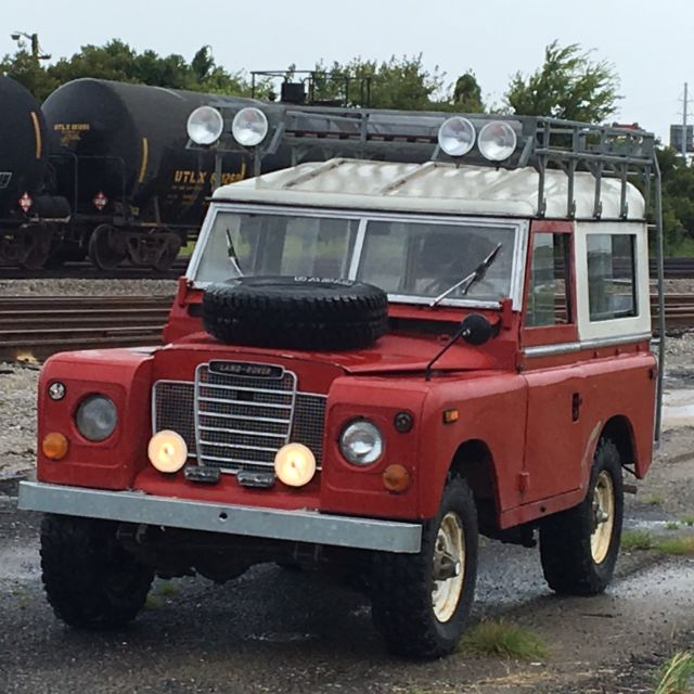 1972 Series 3 Land Rover For Sale