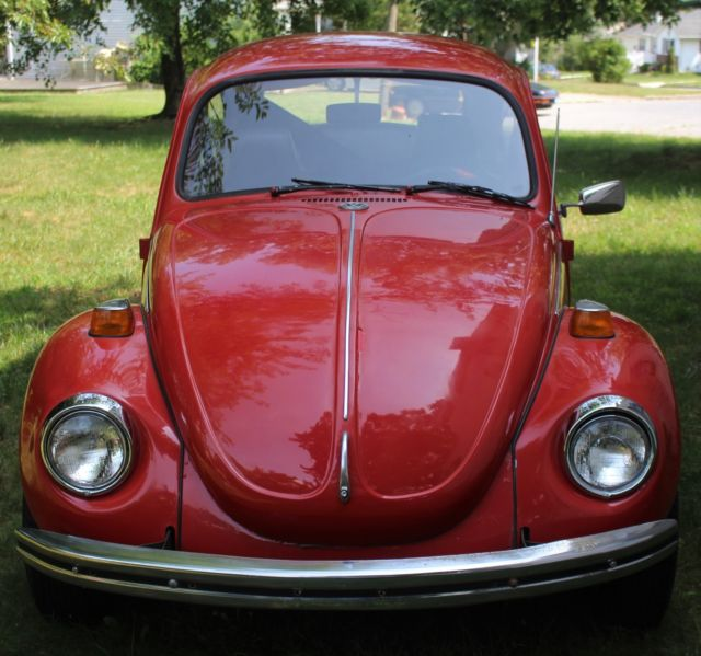 Volkswagen Bug For Sale: 1972 VW Beetle Bug Car 2-door Great Condition Runs Good