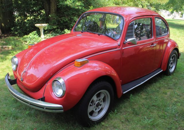 1972 vw beetle bug car 2 door great condition runs good little tlc only classic for sale. Black Bedroom Furniture Sets. Home Design Ideas