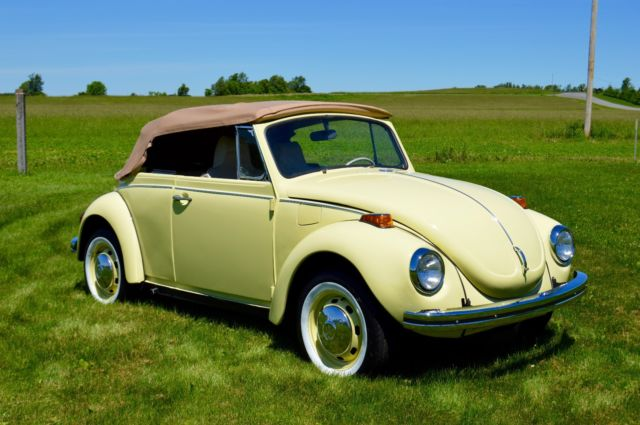 1972 vw beetle convertible 90 restored for sale volkswagen beetle classic convertible 1972. Black Bedroom Furniture Sets. Home Design Ideas