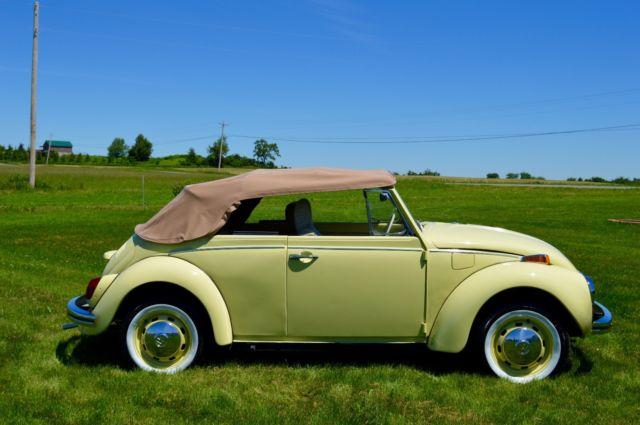 1972 vw beetle convertible 90 restored for sale volkswagen beetle classic convertible 1972. Black Bedroom Furniture Sets. Home Design Ideas