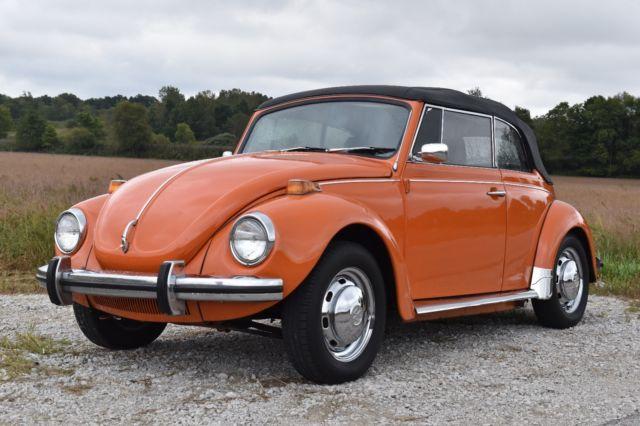 1972 vw beetle convertible classic beautiful for sale volkswagen beetle classic karman 1972. Black Bedroom Furniture Sets. Home Design Ideas