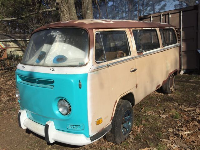 1972 Vw Bus Engine Runs For Sale Volkswagen Bus Vanagon