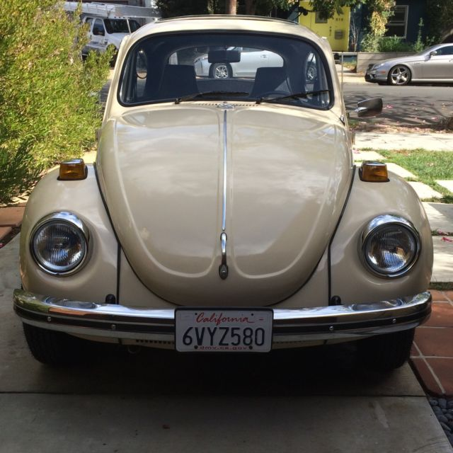 Volkswagen Bug For Sale: 1972 VW Super Beetle With Sunroof For Sale