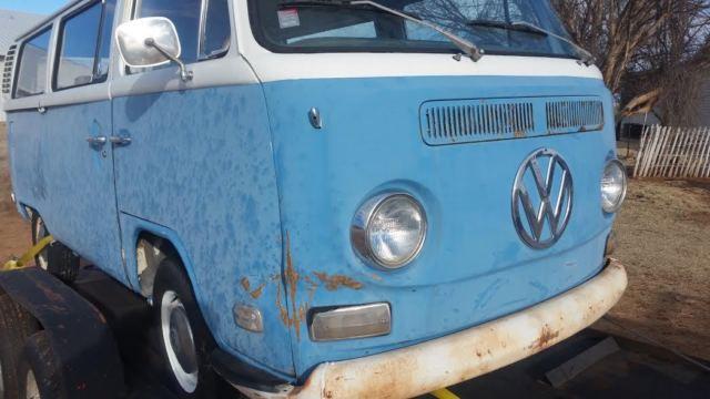 1972 vw van for sale volkswagen bus vanagon 1972 for sale in sayre oklahoma united states. Black Bedroom Furniture Sets. Home Design Ideas