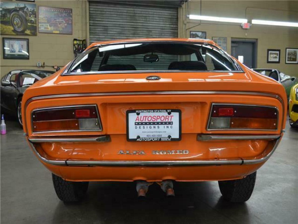 1973 Alfa Romeo Montreal 57553 Miles Orange Coupe 2.6 ...