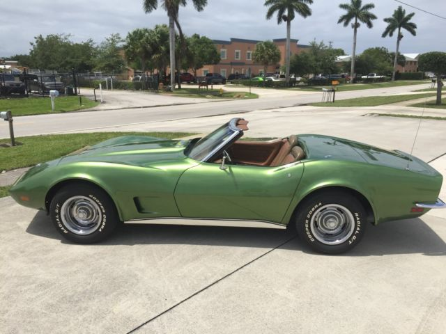 1973 Chevrolet Corvette Convertible L82 4 Speed For Sale Chevrolet Corvette 1973 For Sale In Stuart Florida United States