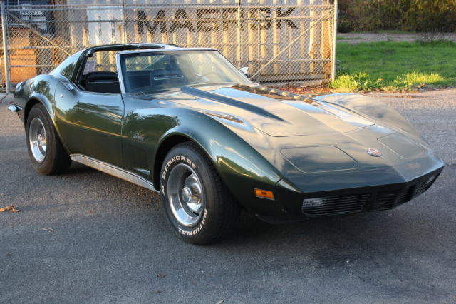 1973 chevy corvette stingray value