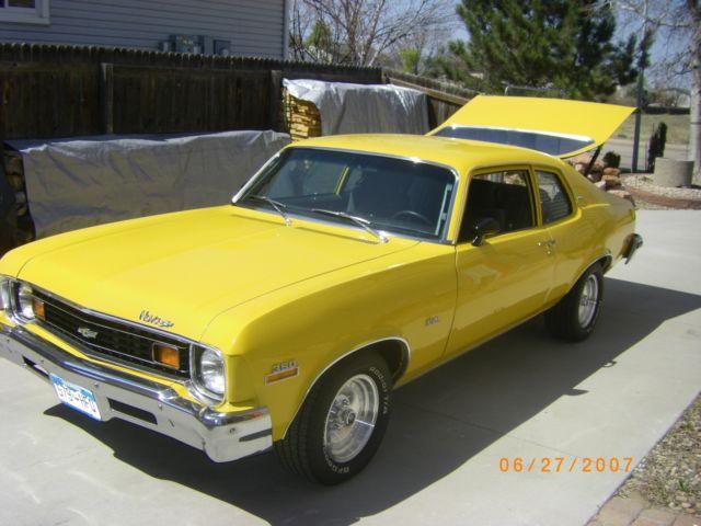 1973 chevrolet nova hatchback for sale