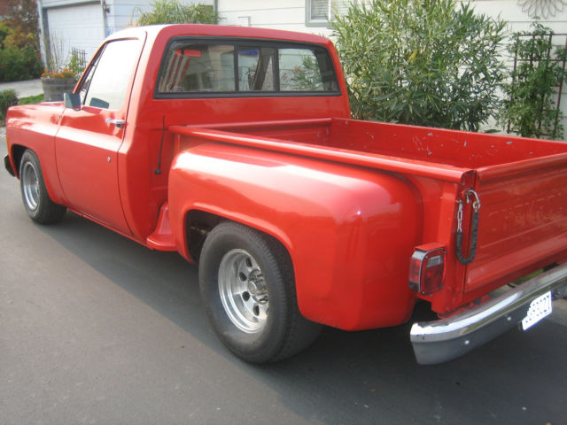 1973 Chevy Truck C10 StepSide California truck Sleeper 500 HP for