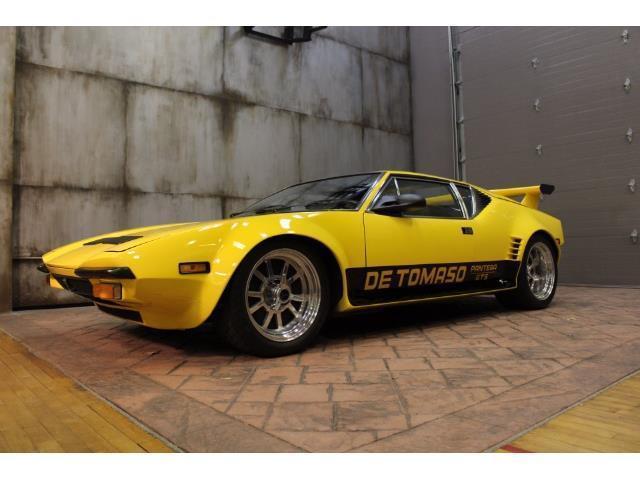 1973 detomaso pantera 13610 miles yellow 5 speed manual for sale de tomaso pantera 1973 for. Black Bedroom Furniture Sets. Home Design Ideas