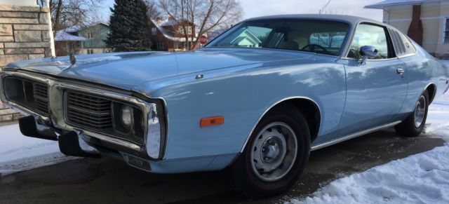 1973 Dodge Charger Se Brougham 318 Auto Bucket Seats